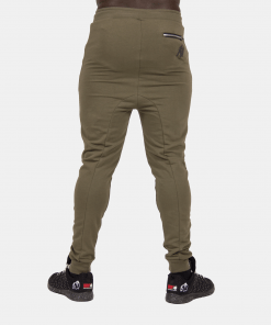 Gorilla-Wear-Alabama-Drop-Crotch-Joggers-Groen-2