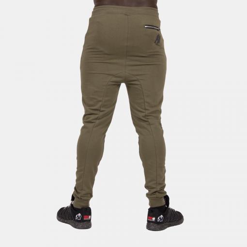 Gorilla-Wear-Alabama-Drop-Crotch-Joggers-Groen-2