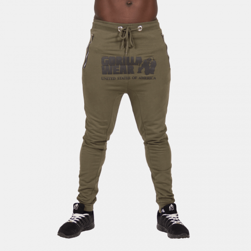 Gorilla-Wear-Alabama-Drop-Crotch-Joggers-Groen-3
