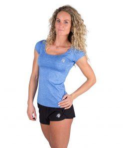 Gorilla Wear Cheyenne T-shirt Blauw-2
