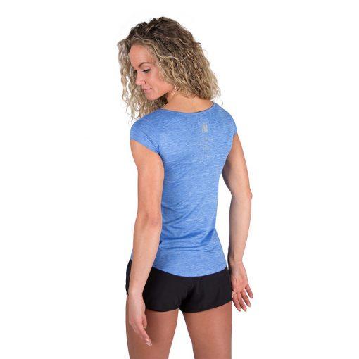 Gorilla Wear Cheyenne T-shirt Blauw-4