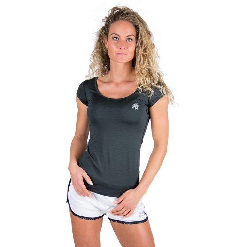 Gorilla Wear Cheyenne T-shirt Zwart-1