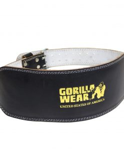 Gorilla-Wear-Full-Leather-Padded-Belt-Black-1