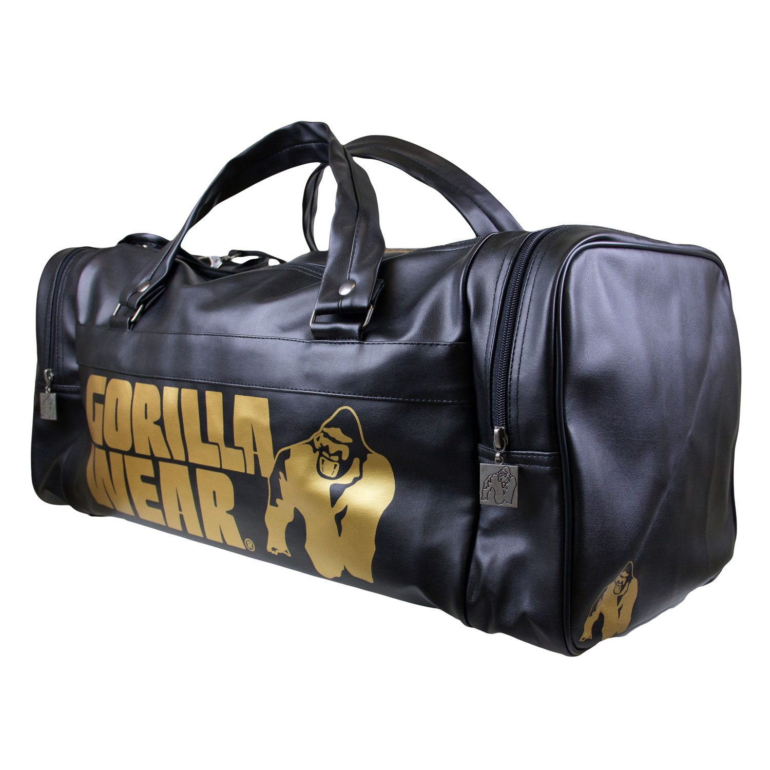 Gym Bag Gorilla Wear: Bodybuilding Tas Zwart Goud
