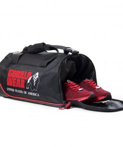 Gorilla-Wear-Jerome-Gym-Bag-Zwart-Rood-2