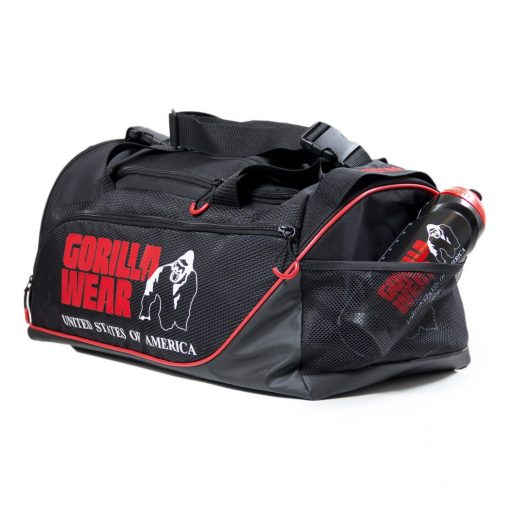 Gorilla-Wear-Jerome-Gym-Bag-Zwart-Rood-3