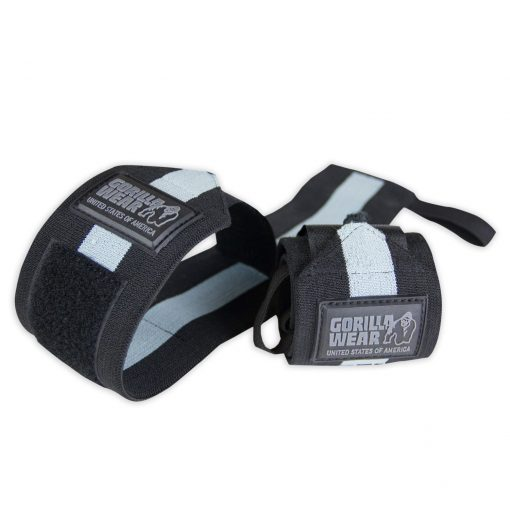 Gorilla-Wear-Wrist-Wraps-Ultra-Zwart-Grijs-1