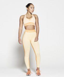 Fitness Legging Dames Oranje Seamless - Pursue Fitness-3
