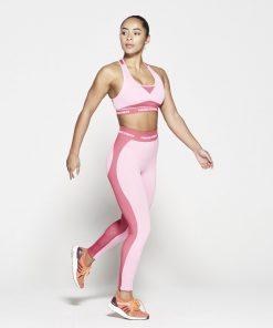 Fitness Legging Dames Roze Seamless - Pursue Fitness-4