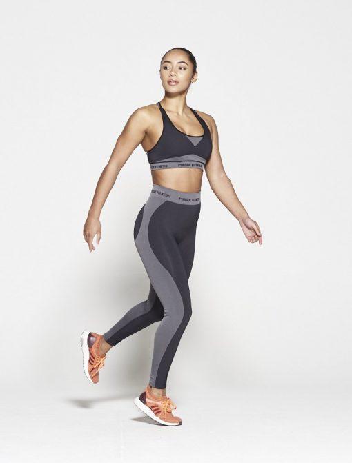 Fitness Legging Dames Zwart Seamless - Pursue Fitness-4