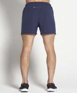 Fitness Shorts Heren Blauw 6inch - Pursue Fitness-2