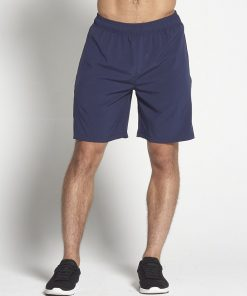 Fitness Shorts Heren Blauw 8inch - Pursue Fitness-1