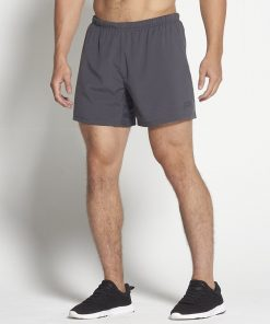 Fitness Shorts Heren Donkergrijs 6inch - Pursue Fitness-1