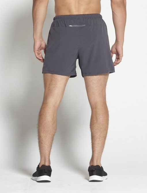 Fitness Shorts Heren Donkergrijs 6inch - Pursue Fitness-2