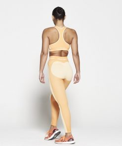 Fitness Top Dames Oranje Seamless - Pursue Fitness-2