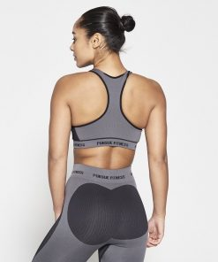 Fitness Top Dames Zwart Seamless - Pursue Fitness-2