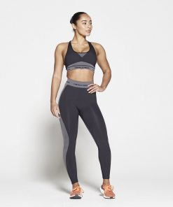 Fitness Top Dames Zwart Seamless - Pursue Fitness-4