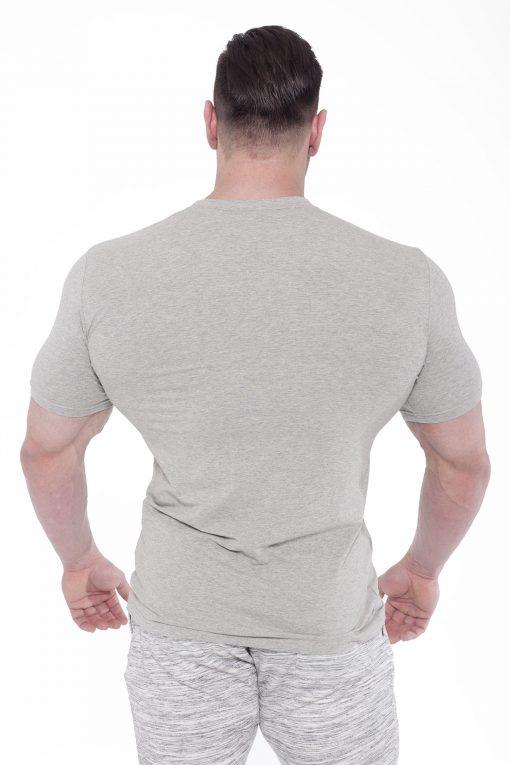 Bodybuilding T-Shirt Elegance Lichtgrijs - Fitness Authority-2
