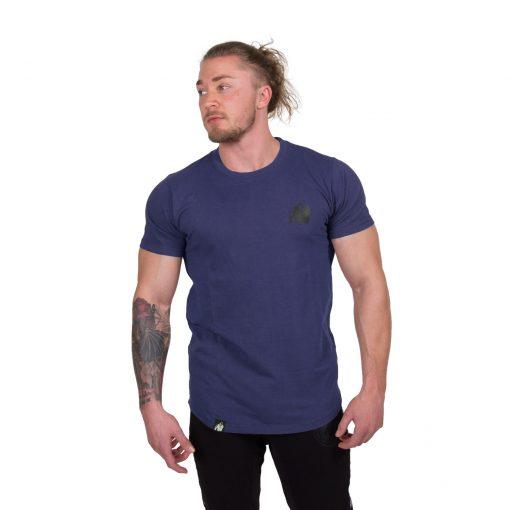 Bodybuilding-T-shirt-Bodega-Blauw---Gorilla-Wear-1