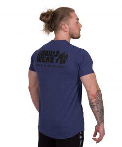 Bodybuilding-T-shirt-Bodega-Blauw---Gorilla-Wear-2