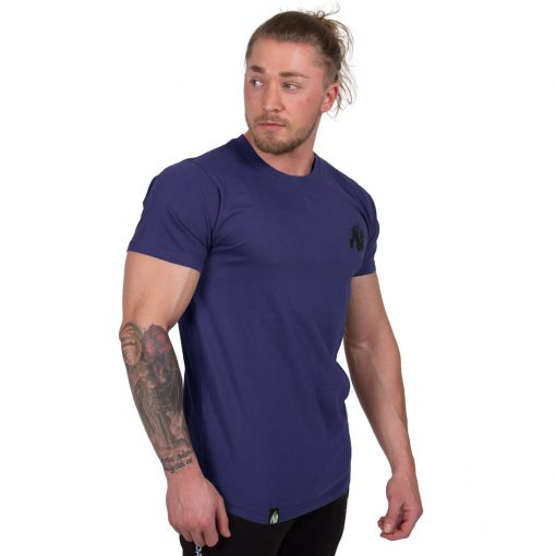 Bodybuilding-T-shirt-Bodega-Blauw---Gorilla-Wear-3