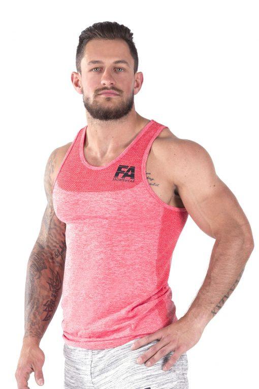 Bodybuilding Tanktop Basic Rood - Fitness Authority-2