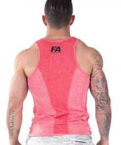 Bodybuilding Tanktop Basic Rood - Fitness Authority-3