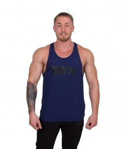 Bodybuilding-Tanktop-Classic-Blauw---Gorilla-Wear