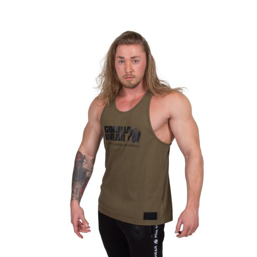 Bodybuilding-Tanktop-Classic-Groen---Gorilla-Wear-1