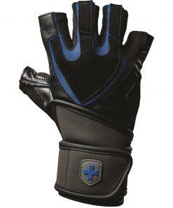 Fitness Handschoenen Training Grip Zwart Blauw - Harbinger