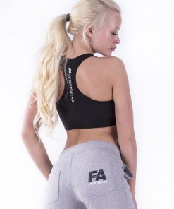 Sportbroek Dames Grijs - Fitness Authority-2