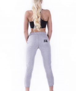 Sportbroek Dames Grijs - Fitness Authority-3