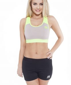 Sporttop Dames Form Grijs Groen - Fitness Authority-1