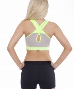 Sporttop Dames Form Grijs Groen - Fitness Authority-2