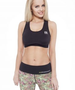 Sporttop Dames Form Zwart - Fitness Authority-1