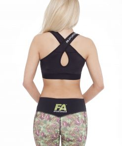 Sporttop Dames Form Zwart - Fitness Authority-2