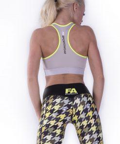 Sporttop Dames Hardy Grijs - Fitness Authority-3