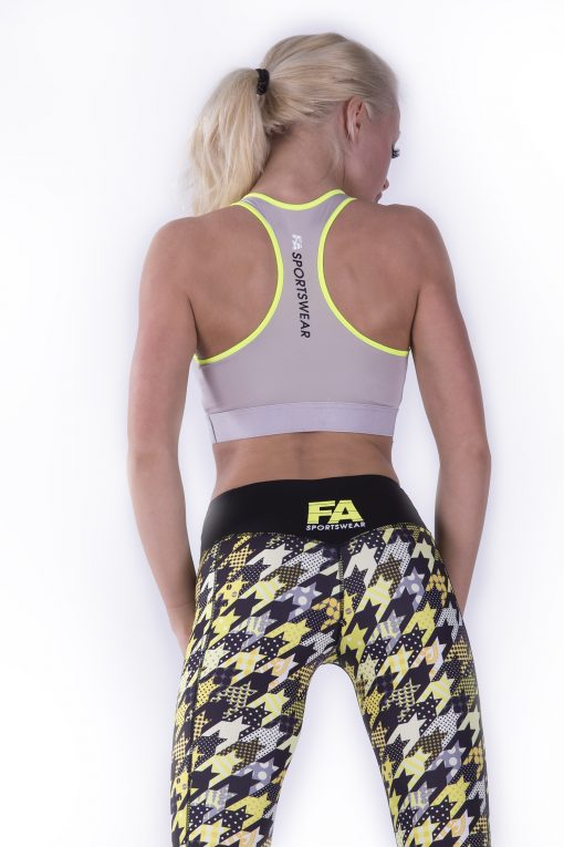 Sporttop Dames Hardy Grijs - Fitness Authority-3