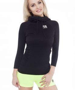Sporttrui Dames Superstar Zwart - Fitness Authority-1