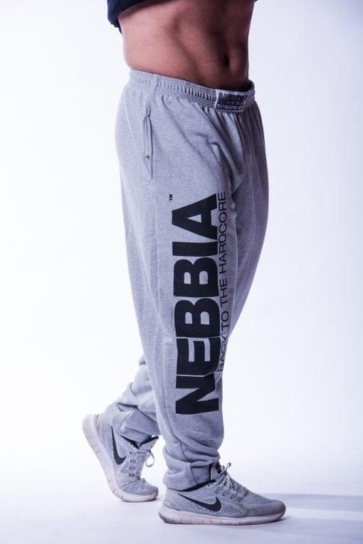 Bodybuilding Broek Heren Grijs - Nebbia 510-3