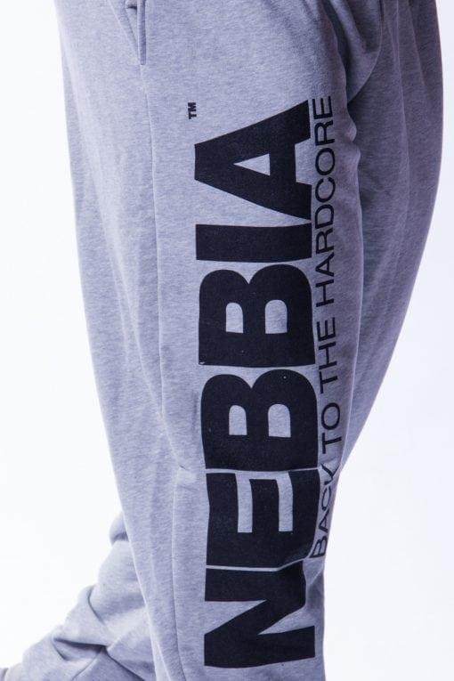 Bodybuilding Broek Heren Grijs - Nebbia 510-4