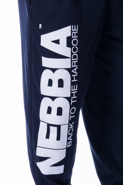 Bodybuilding Broek Heren Zwart - Nebbia 510-4