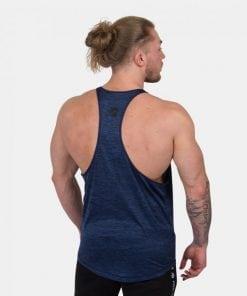 Bodybuilding Tanktop Mannen Blauw - Gorilla Wear Austin-2