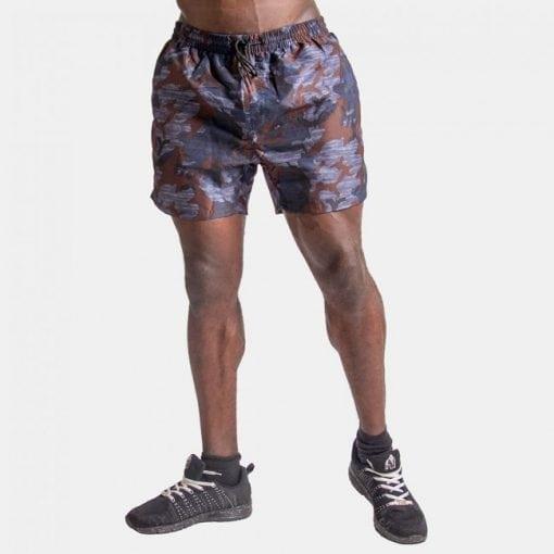 Fitness Shorts Bailey Blue Camo - Gorilla Wear -1
