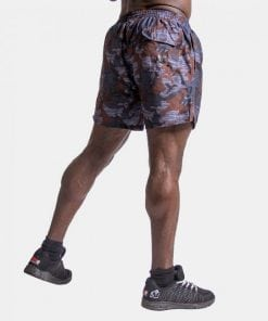 Fitness Shorts Bailey Blue Camo - Gorilla Wear -2