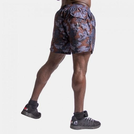 Fitness Shorts Bailey Blue Camo - Gorilla Wear -2