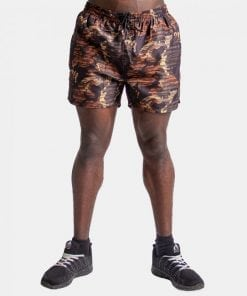Fitness Shorts Bailey Brown Camo - Gorilla Wear-1