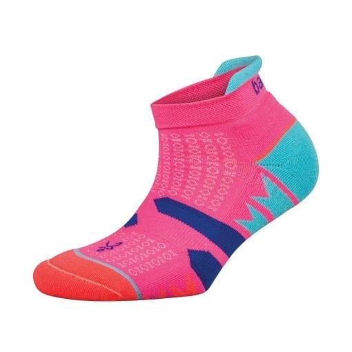 Fitness-Sokken-Dames-Roze-Blauw---Balega-Enduro-No-Show