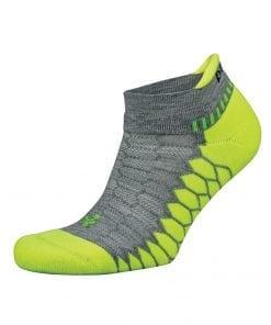 Fitness-Sokken-Grijs-Groen---Balega-Silver