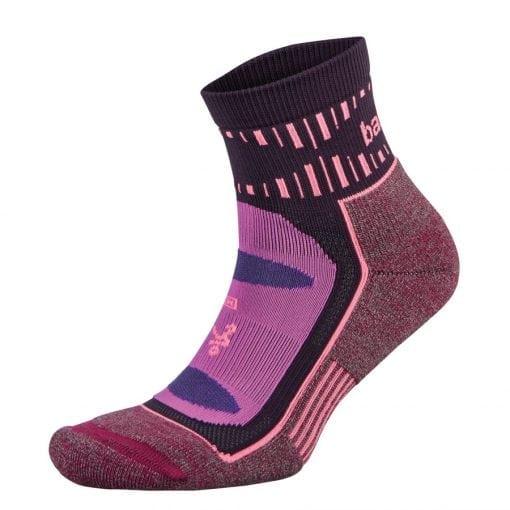 Fitness-Sokken-Paars-Roze---Balega-Blister-Resists-Quarter